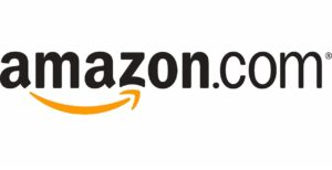 Logo of Amazon, an online retailer that stocks Exascend products