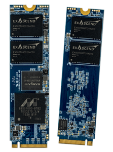Exascend's PE4 series of enterprise-grade SSDs