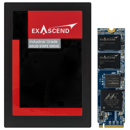 Exascend's PI series of enterprise-grade SSDs