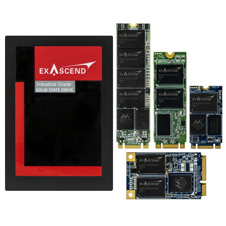 Exascend's SI2 series of enterprise-grade SSDs