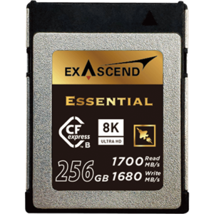 Exascend's high-performance CFexpress series of memory cards