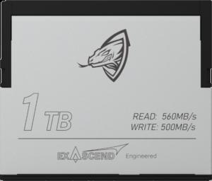 Exascend Archon CFast 1TB card