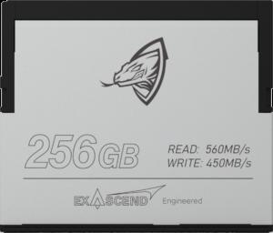 Exascend Archon CFast 256GB card